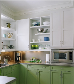 Microwave on countertop; Courtesy: Houzz