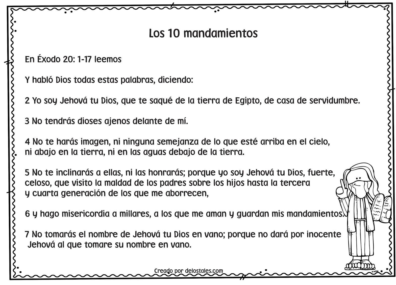 Los 10 mandamientos de los tales - Los 10 locos mandamientos ...