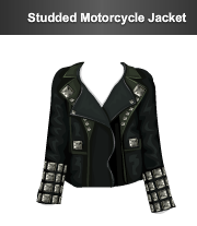 stardoll le studded motorcycle jacket