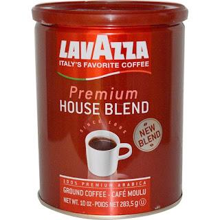 LavAzza Premium Coffees, Premium House Blend, Ground Coffee, 10 oz (283.5 g) (Discontinued Item)