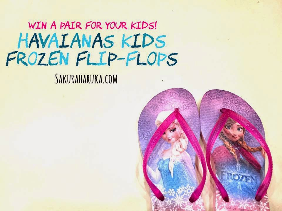 3fada4f4c7da73 Is the Disney Frozen fever still on at your house  It sure still is in  ours!  P And Lil Pumpkin was soooo elated when she saw her latest pair of  Havaianas ...