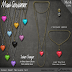 MAXI GOSSAMER - SUGAR HEAT NECKLACE  SET