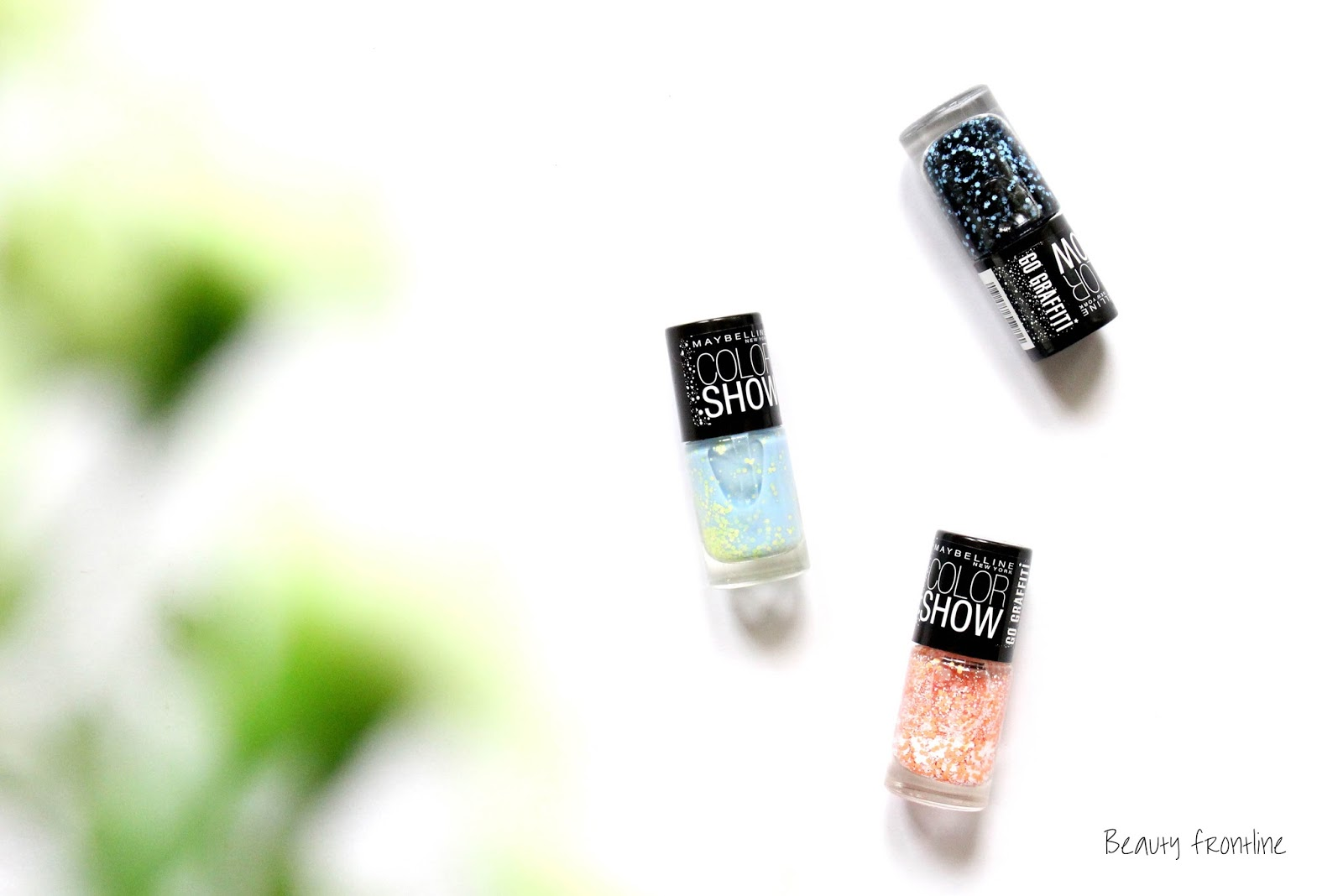 All 9 Maybelline Color Show Go Graffiti Nail Polish review, notd, price and india online