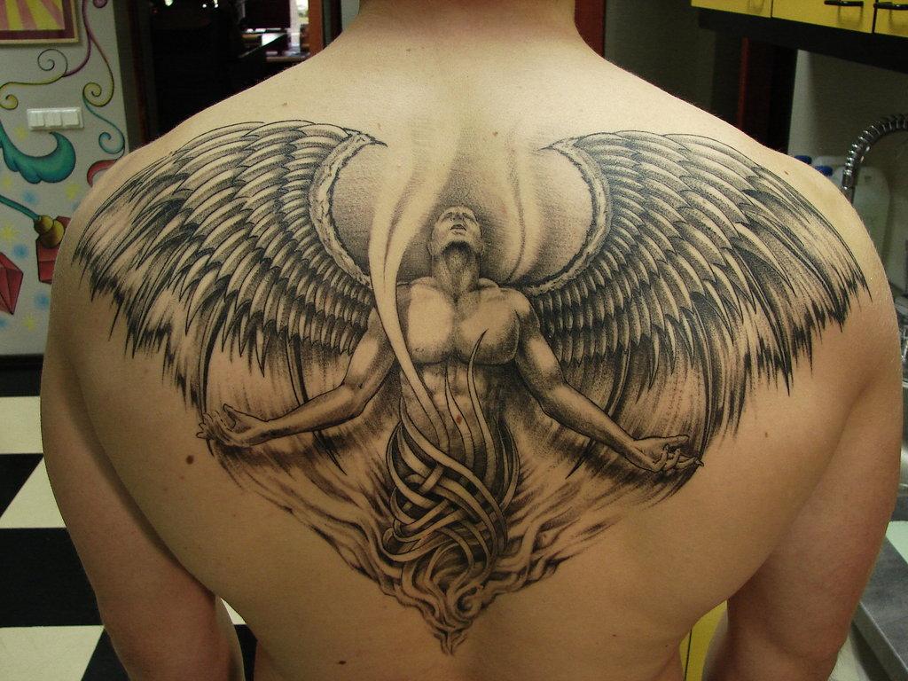 Men S Tattoos: Wings Tattoo For Men
