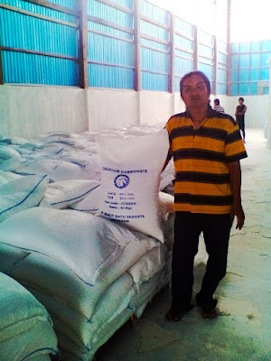 Calsium carbonat made in indonesia CV Prima jaya niaga west sumatra