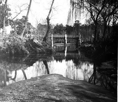 Arroyo Miguelete. Otra vista del puente Buschental
