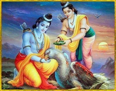 Hindu lord jatayu pic