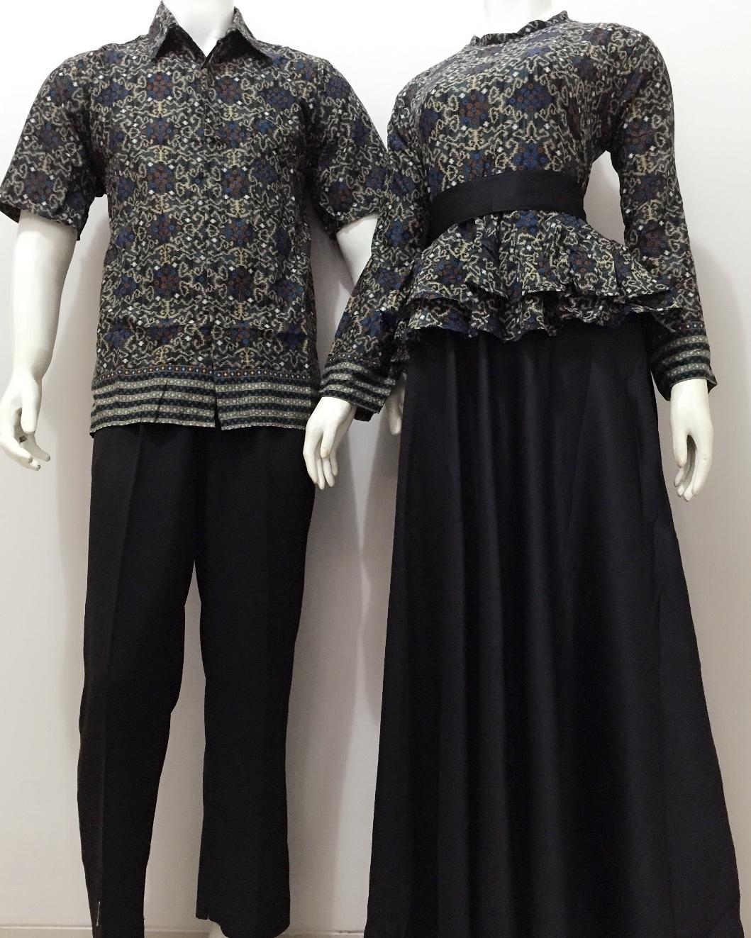 Batik Bagoes Solo Model Batik Sarimbit Gamis