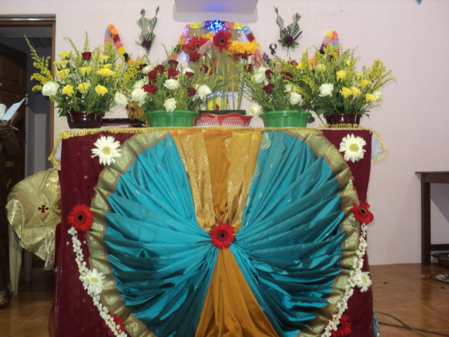 Komanvilai Feast Second Day Altar Decoration 15 06 13