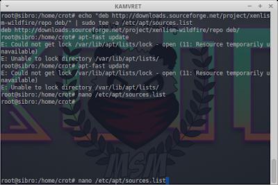 Unable to Lock Directory /var/lib/apt/lists