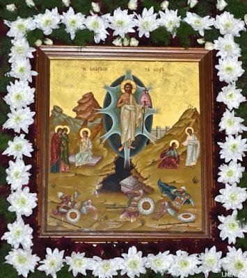 ИПЦ Греции: Пасхальная служба в Николаевском соборе Ахарнэ (Аттика). ФОТО