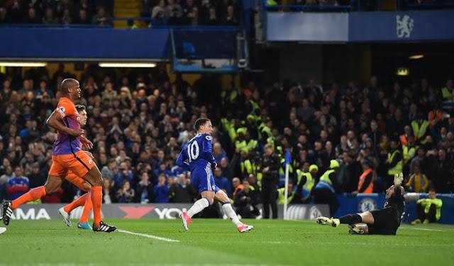 Chelsea FC Eden Hazard Vs Manchester City
