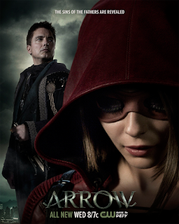 """TV Series: Nuevo cartel de """"ARROW"""" protagonizado por Thea y Malcolm Merlin."""