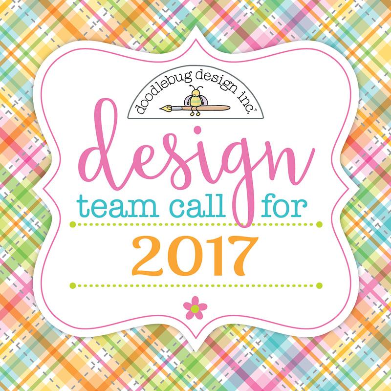Doodlebug design inc blog 2017 design team call for We love design