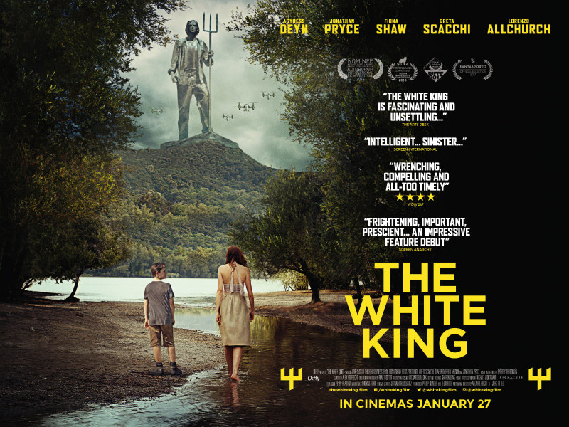 the white king poster