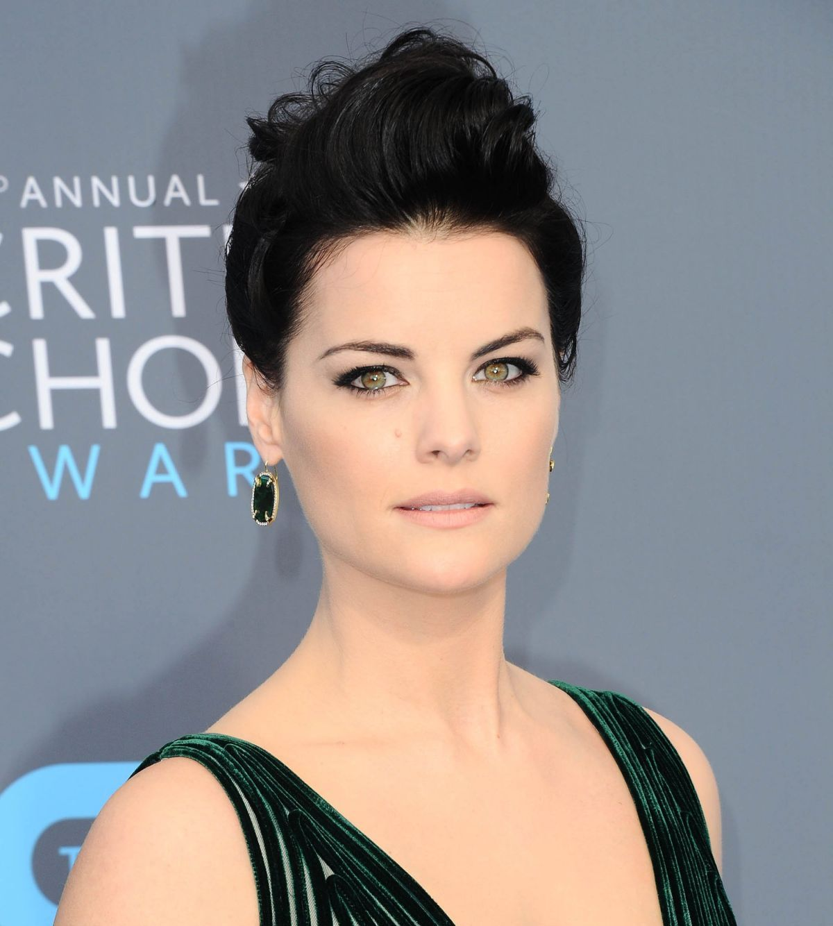 Photos of Jaimie Alexander At 2018 critics Choice Awards In Santa Monica