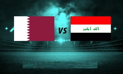مشاهدة مباراة العراق وقطر يلاشوت