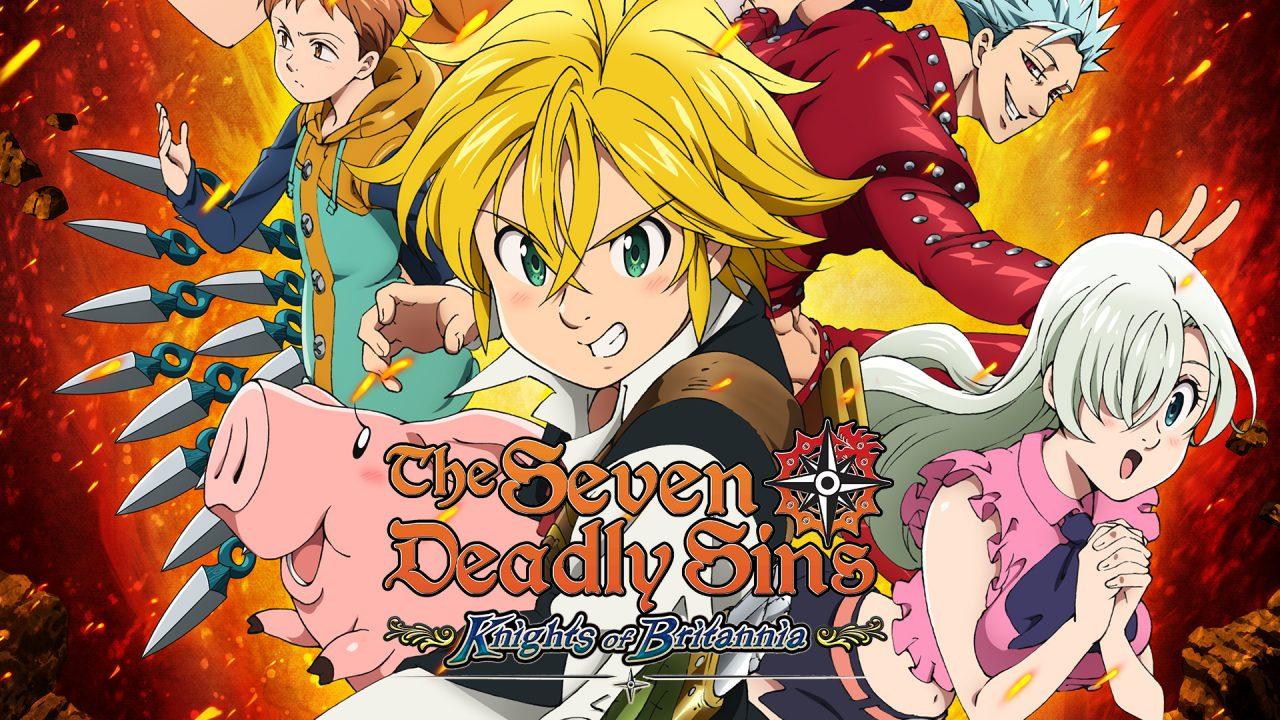 Seven deadly sins nat games wallpaper logo 1280x720 - The Seven Deadly Sins Knights of Britannia PS4 PKG 5.05