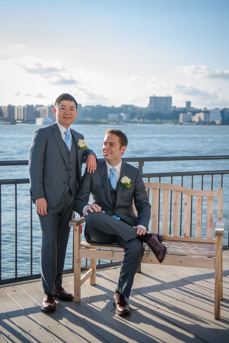 same sex wedding photographer in New York