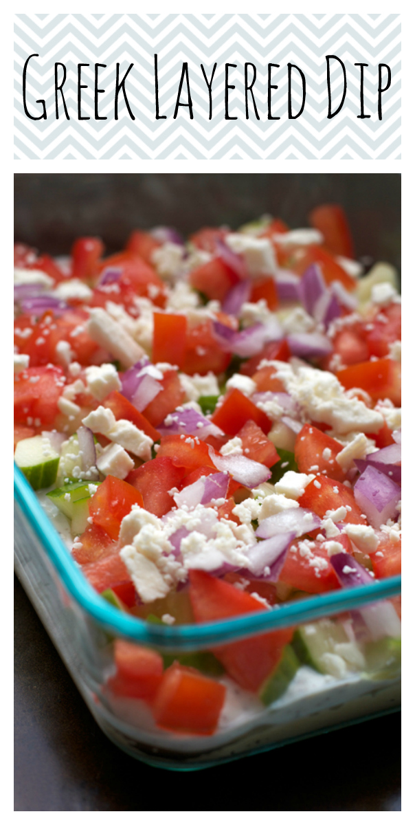 Greek Layered Dip || A Less Processed Life