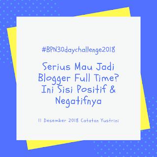 blogger fulltime