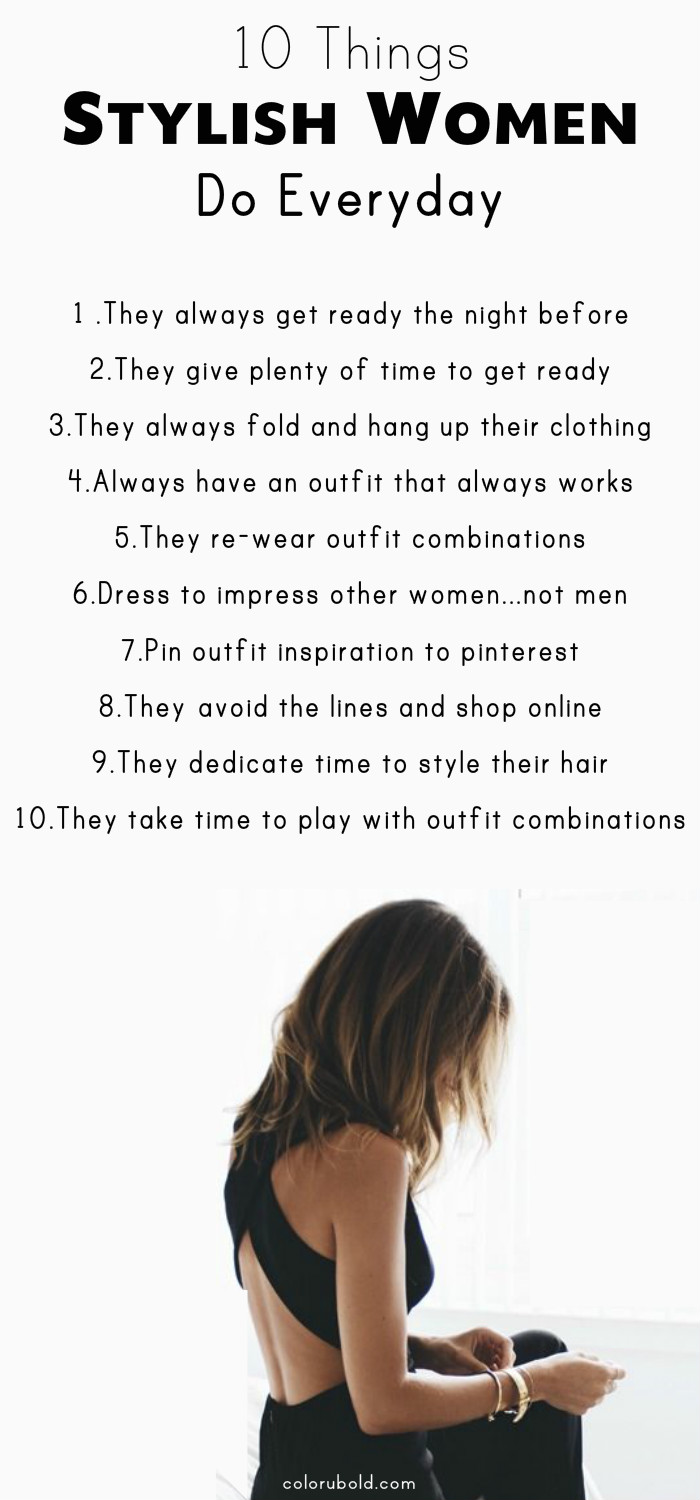 How to be stylish and fashionable