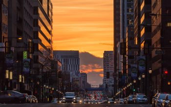 Wallpaper: Urban landscape from Market Street