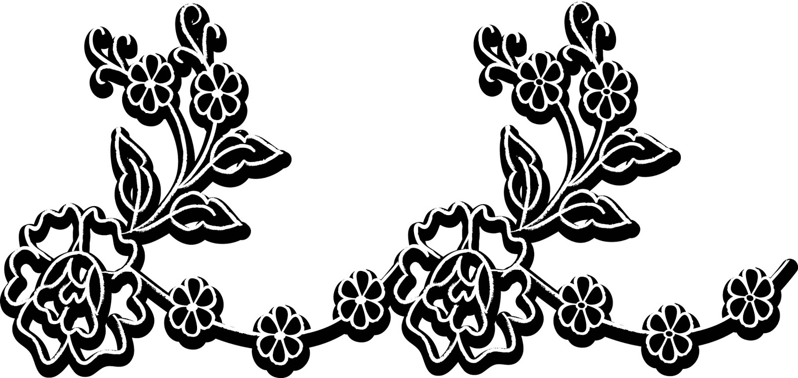 august clipart black and white [ 1600 x 759 Pixel ]