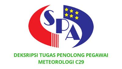 Gaji, Kelayakan & Tugas Penolong Pegawai Meteorologi Gred C29