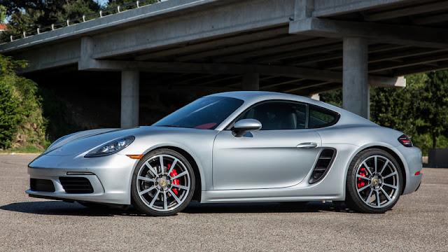 Porsche 718 Cayman - Top 10 new supercars under $100K