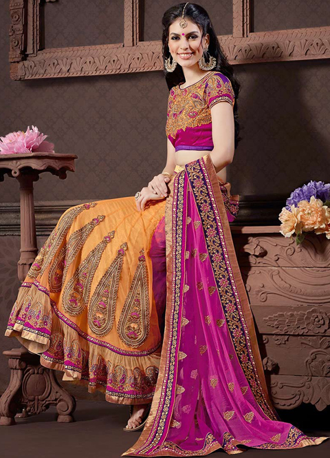 contoh foto baju sari india