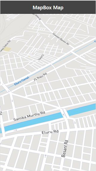 How to Integrate Mapbox GL JS Maps with an Ionic Application