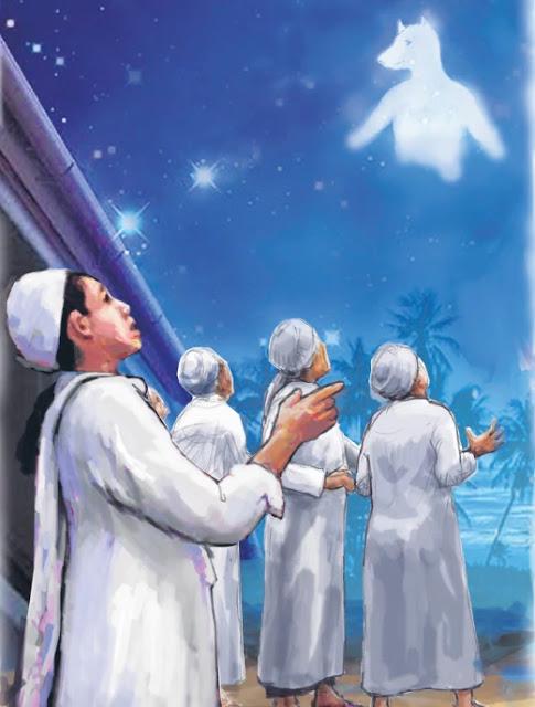 misteri objek di langit tanda kuasa Allah