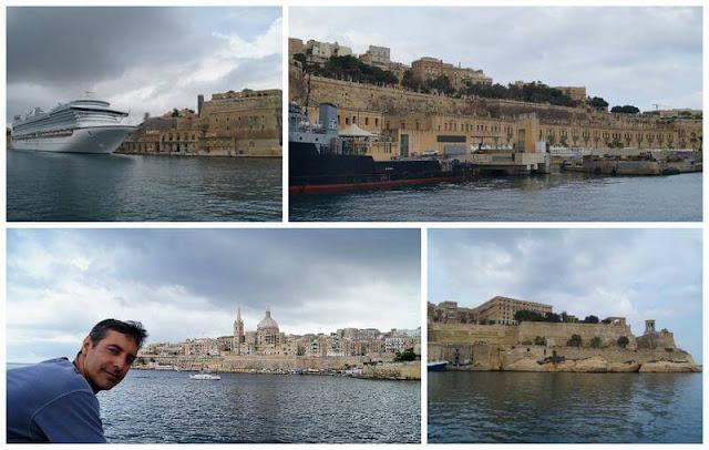 la valeta Malta desde el mar