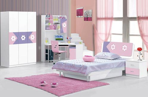 Tổng hợp 3 mẫu phòng ngủ đồng bộ cho bé gái hiện đại, tiện nghi