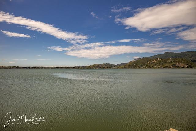 Lagune d'Ortebello… idéale pour les hydravions !