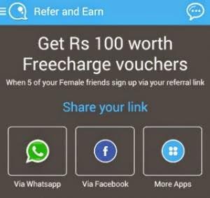 freecharge voucher
