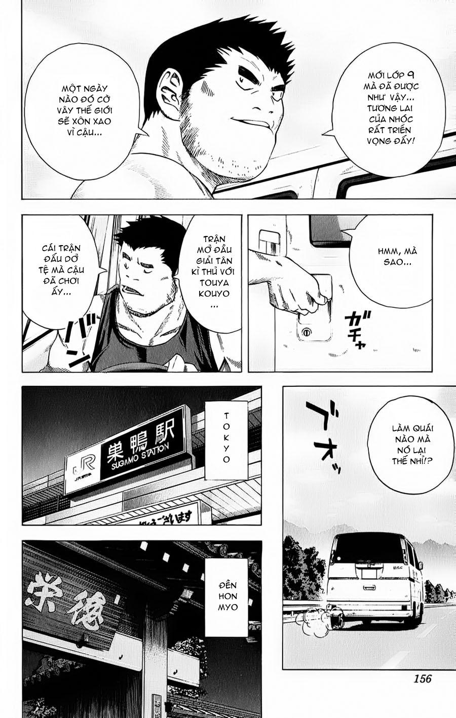 Hikaru No Go hikaru no go chap 128 trang 11