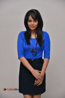 Actress Nandita Swetha Stills in Black Mini Skirt at Ekkadiki Potavu Chinnavada Movie Special Show  0049.JPG