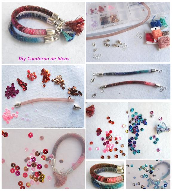 miyuki, sparkle, bracelets, pulseras, rejillas, manualidades, bisutería