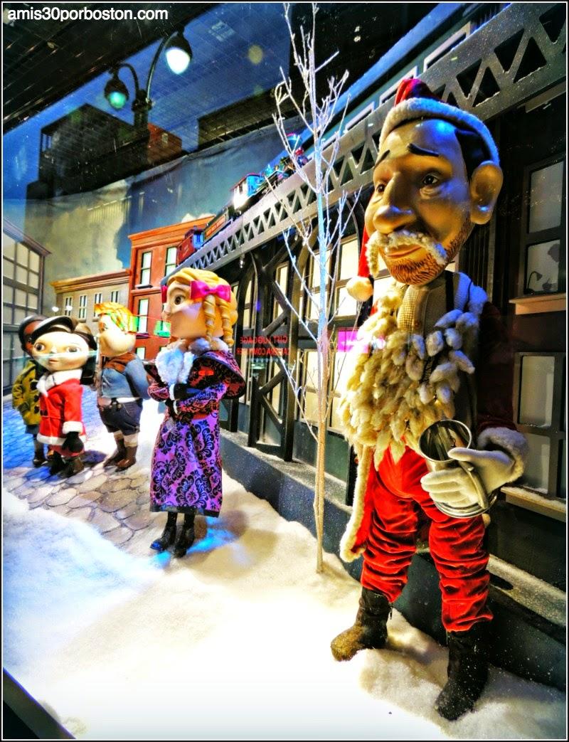 Escaparates de Navidad en Nueva York: Sí, Virginia en el Macy´s