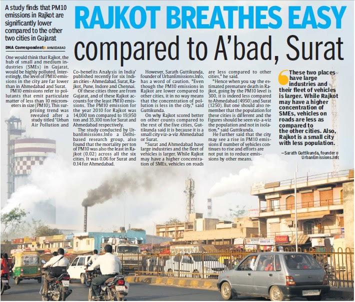 8 Least Polluted Places In India: Daily Dose Of Air Pollution: Air Pollution In Rajkot City