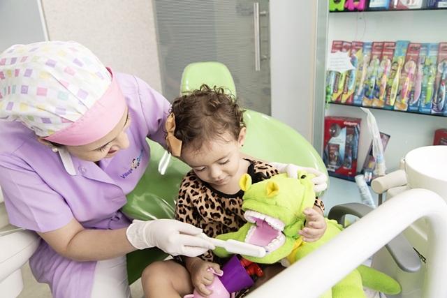 A primeira ida ao dentista. Quando deve ser?'