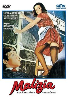 Poster of (18+)Malizia (Malicious) 1973 Full Movie 720p Italian BluRay With ESubs Download