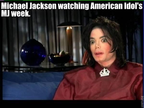 Michael Jackson American Idol Meme