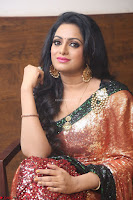 Udaya Bhanu lookssizzling in a Saree Choli at Gautam Nanda music launchi ~ Exclusive Celebrities Galleries 011.JPG