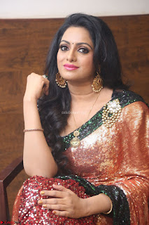 Udaya Bhanu lookssizzling in a Saree Choli at Gautam Nanda music launchi ~ Exclusive Celebrities Galleries 011.JPG