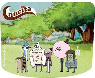 Etiqueta Nucita para Imprimir Gratis de Un show Más.