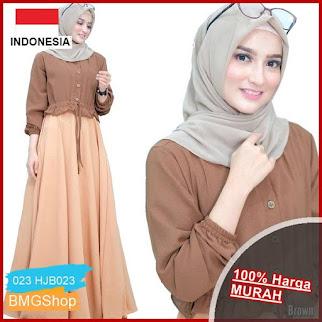 HJB023 dress Anjani Muslim Wanita Terlaris BMGShop