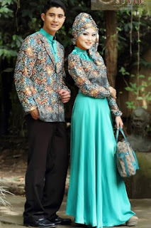 Model Baju Batik Pesta Warna Favorit Glamor Mewah